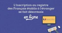 Inscription au consulat en ligne