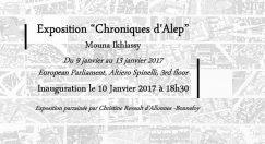 Mouna Ikhlassy,artiste syrienne, expose du 9 au 13 janvier