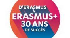 Erasmus + fête ses 30 ans