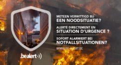 Système d'alerte belge : Be-Alert