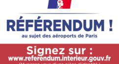 Participez au référendum contre la privatisation d'Aéroports de Paris (ADP)
