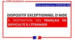 Covid-19 : Aide ponctuelle aux Français résidant à l'étranger en difficulté