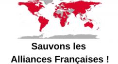 """Signez la pétition """"Sauvons les alliances françaises !"""""""